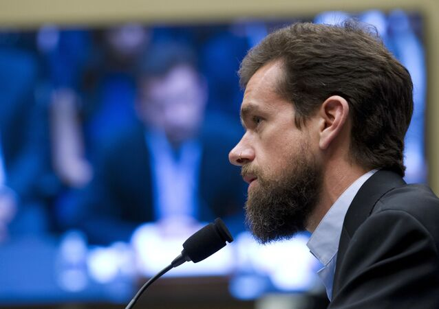 Twitter CEO Jack Dorsey testifies before the House Energy and Commerce Committee on Capitol Hill, Wednesday, Sept. 5, 2018, in Washington