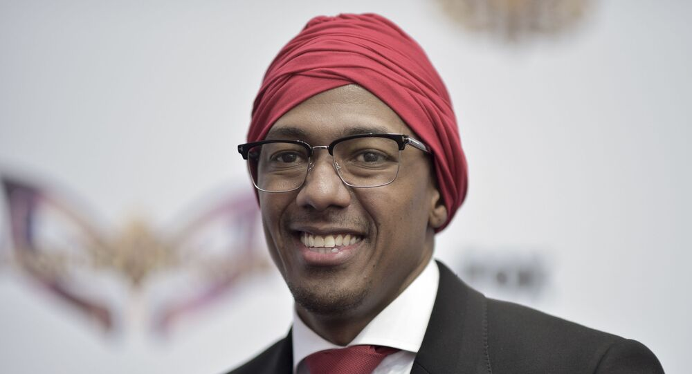 Nick Cannon attends The Masked Singer FYC event at Westfield Century City on Tuesday, June 4, 2019, in Los Angeles.