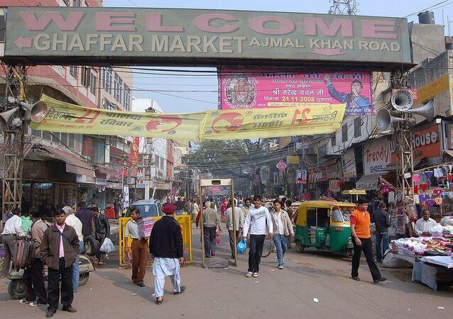 Karol Bagh Market in New Delhi