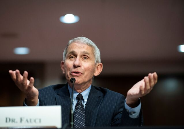Anthony Fauci, director of the National Institute of Allergy and Infectious Diseases, speaks during a Senate Health, Education, Labor and Pensions Committee hearing on efforts to get back to work and school during the coronavirus disease (COVID-19) outbreak, in Washington, D.C., U.S. June 30, 2020