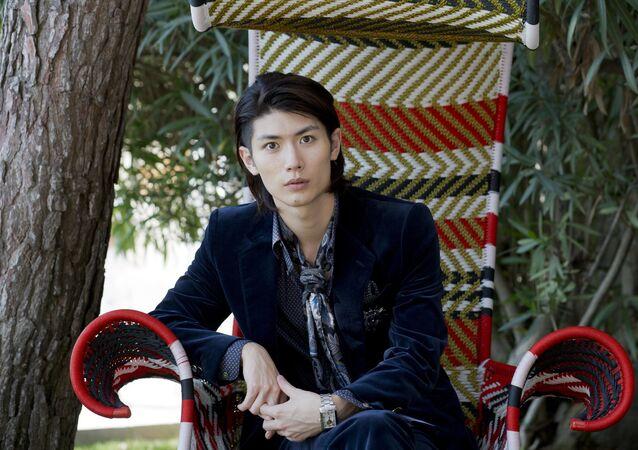 Haruma Miura poses for portraits at the 70th edition of the Venice Film Festival
