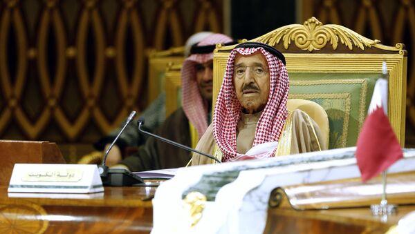 Kuwait's Emir Sheikh Sabah Al Ahmad Al Sabah attends the 40th Gulf Cooperation Council Summit in Riyadh, Saudi Arabia, Tuesday, Dec. 10, 2019 - Sputnik International