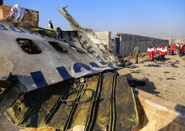 Ukrainian jetliner crashed in Iran