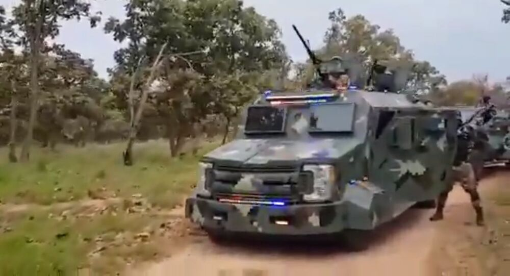 Jalisco New Generation Cartel (CJNG) allegedly shows off its military-grade equipment in a video distributed online
