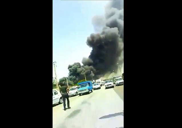 Fire at Factory, Iran