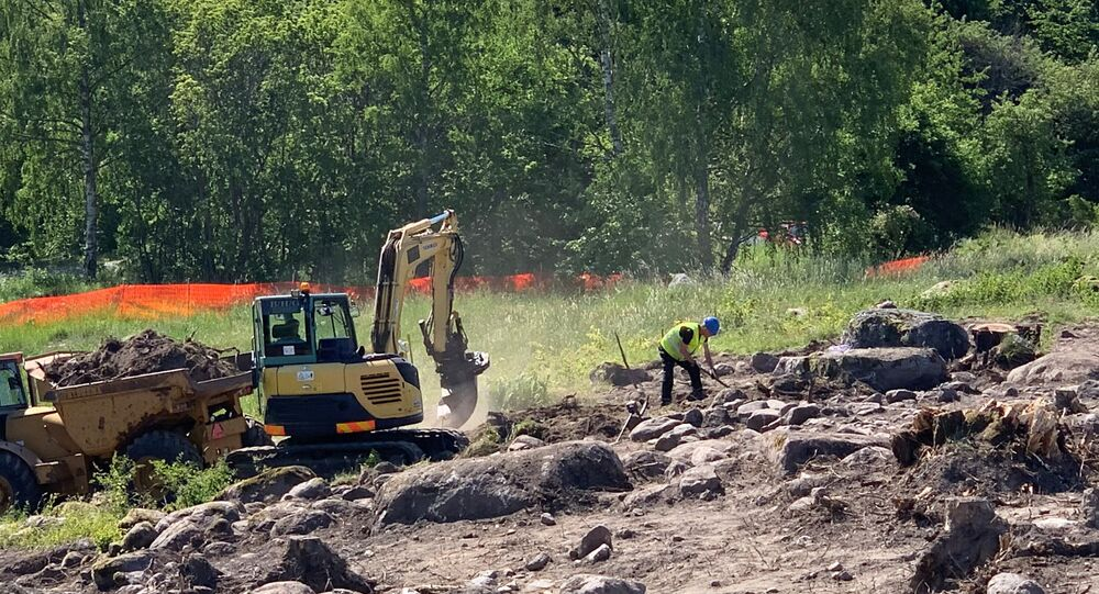 A Viking-era farm excavated in Viggbyholm in Täby this summer