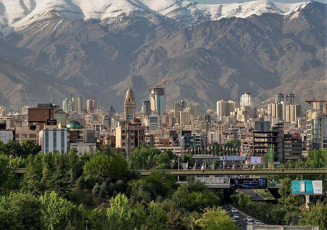 North of Tehran Skyline view