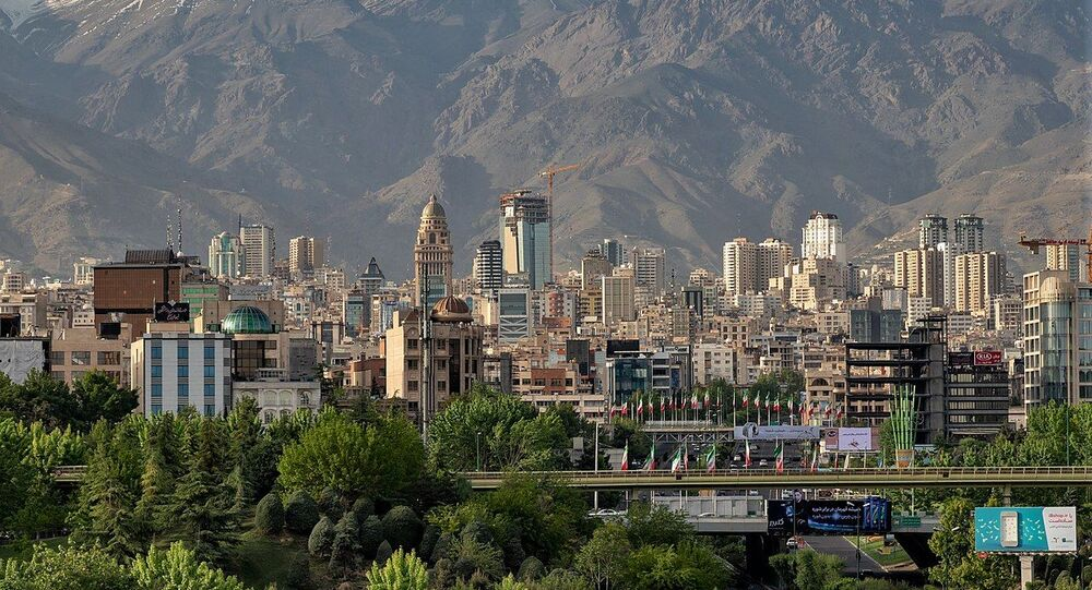 North of Tehran Skyline view