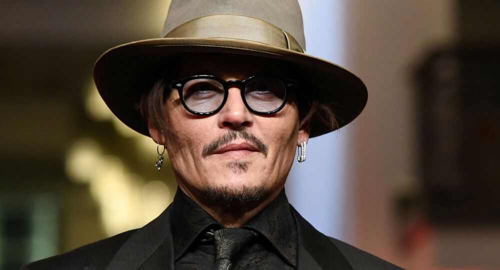 Actor Johnny Depp arrives for the screening of the movie Minamata during the 70th Berlinale International Film Festival in Berlin, Germany, February 21, 2020