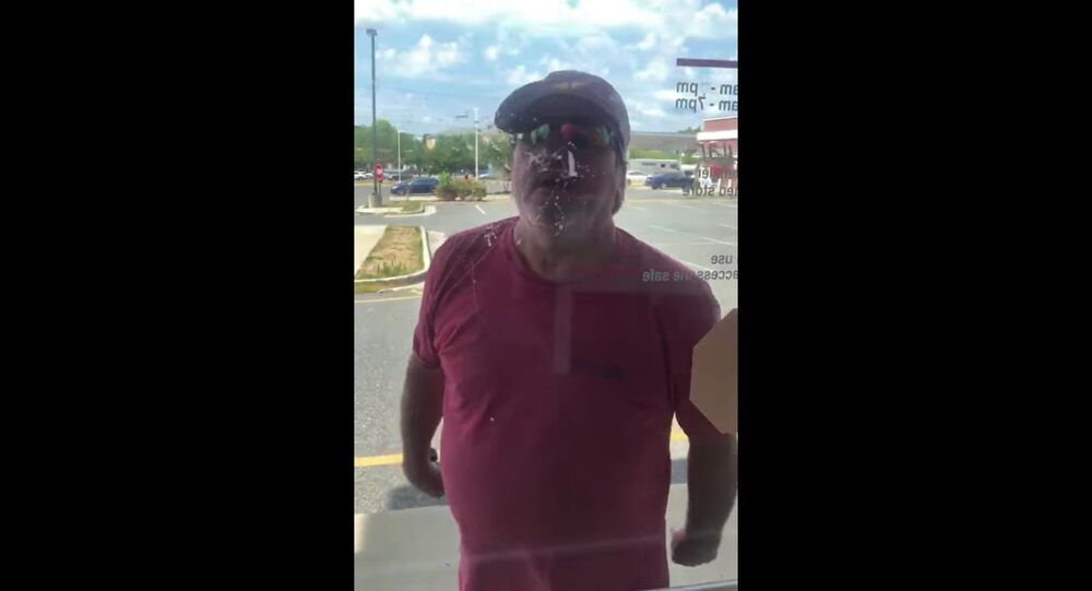 Cellphone footage captures Virginia resident Robert Colonna throwing a racially-charged fit toward Verizon employees after having troubles with his phone.