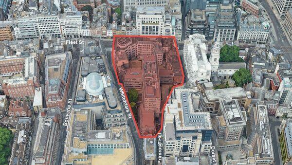 The site in Fleet Street, London - Sputnik International