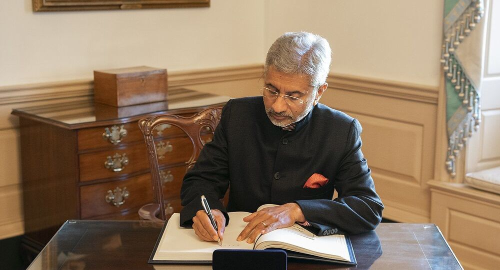 Indian Minister of External Affairs Subrahmanyam Jaishankar
