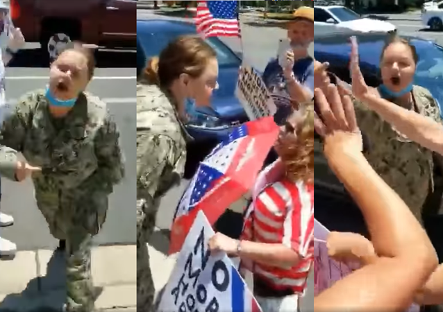 This attack took place on Sunday July 19th at about 1:00 pm. A large group of people were having a pro-america rally and had lined the sidewalks with happiness and flags.