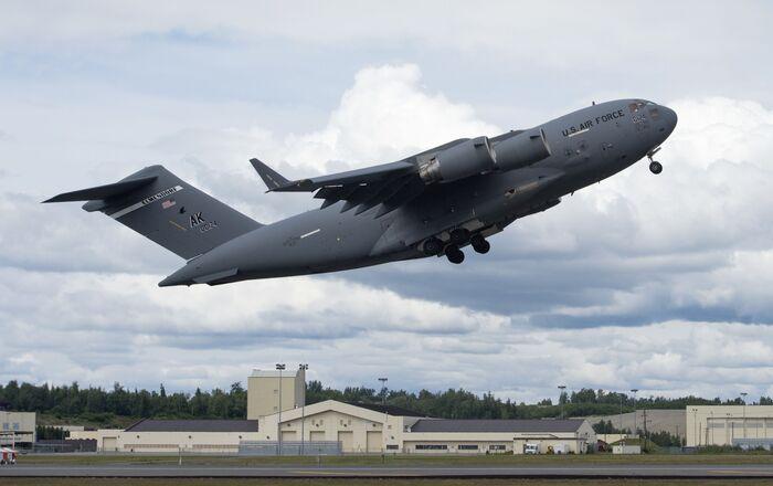 C-17 Globemaster III at Joint Base Elmendorf-Richardson, Alaska
