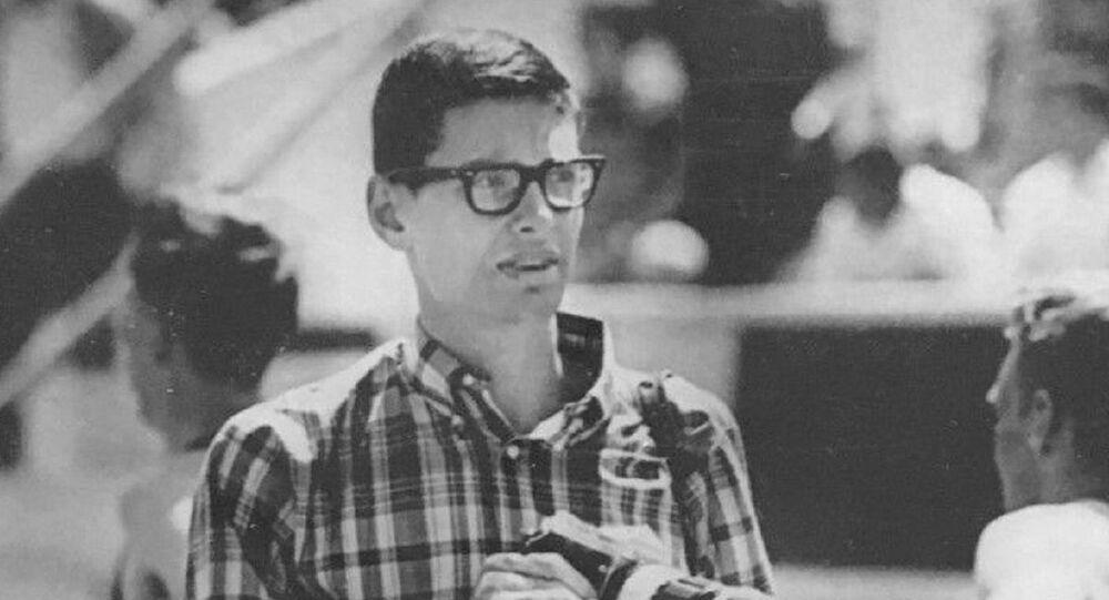 Jim Ryun as a sports journalist in 1966