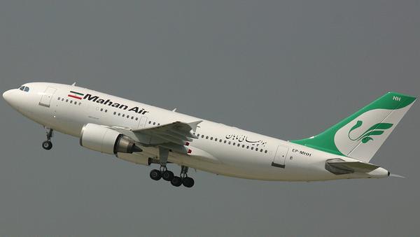 A Mahan Air Airbus A310-300. File photo. - Sputnik International