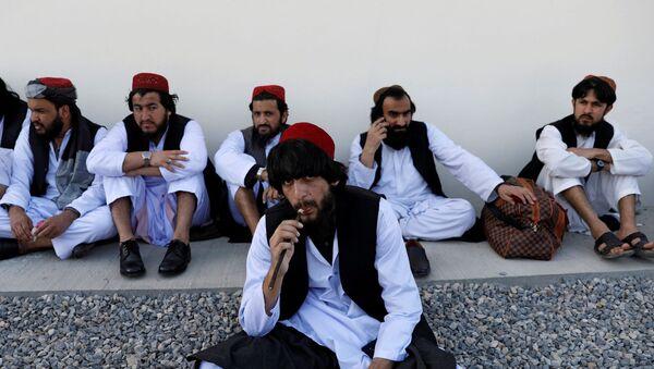 Freed Taliban prisoners in Kabul - Sputnik International