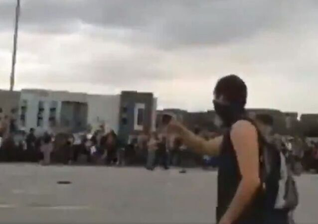 Shooting during a protest on I-225 highway in Aurora, Colorado