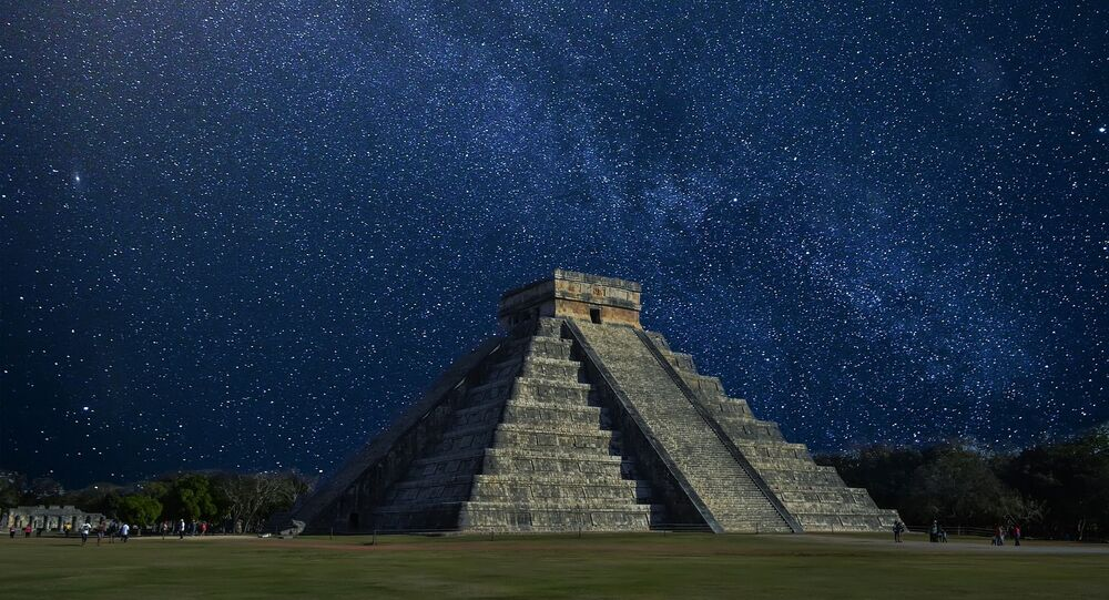 Ancient Mayan Temple of Kukulkan