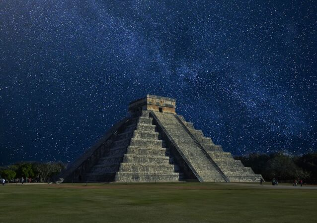 Ancient Mayan Temple of Kukulkan