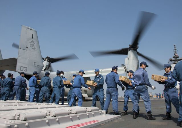 Members of the Japan Maritime Self-Defence Force