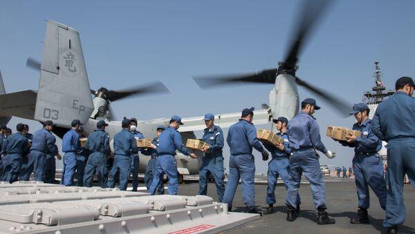 Members of the Japan Maritime Self-Defence Force - Sputnik International