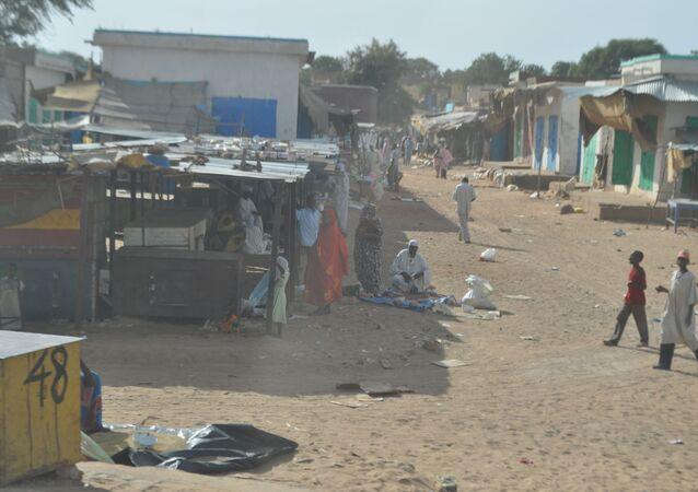 A view of El Geneina, West Darfur.