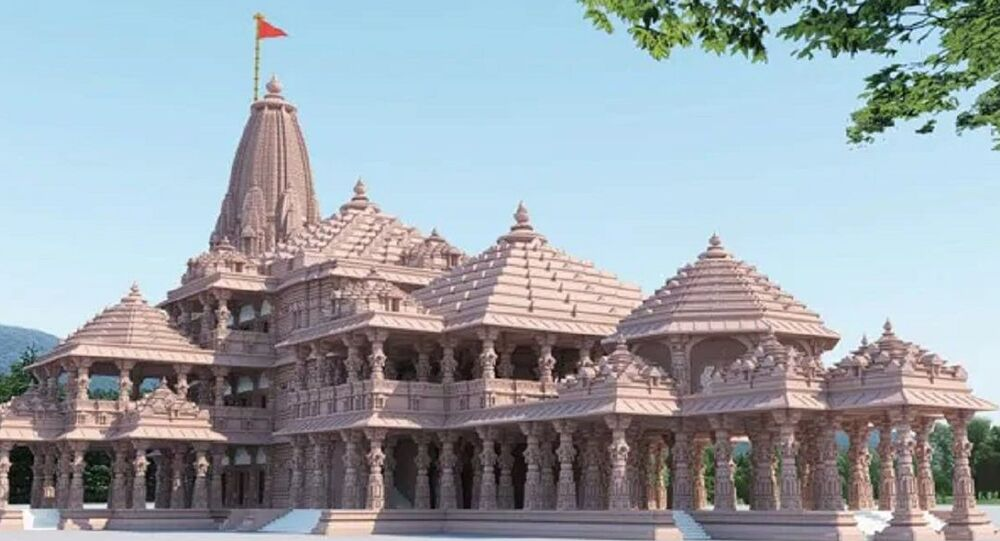 This is the proposed design of Shree Ram Janmabhoomi Tirth Kshetra