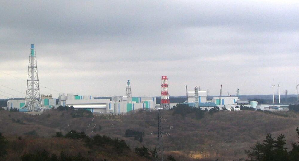 Japan Nuclear Fuel's nuclear fuel reprocessing facility located in Rokkasho, Aomori Prefecture