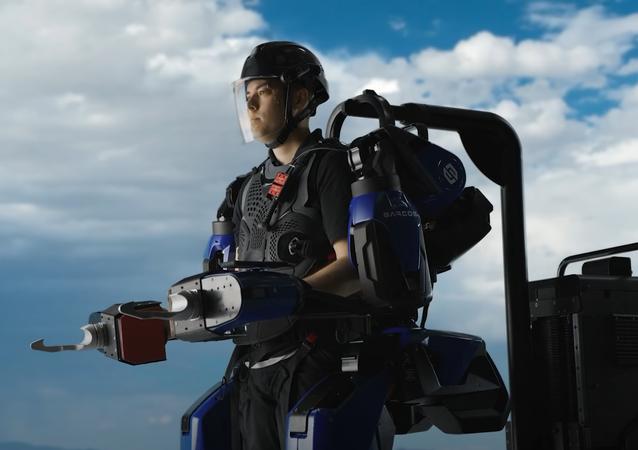 Sarcos Guardian® XO® Full-Body Powered Exoskeleton