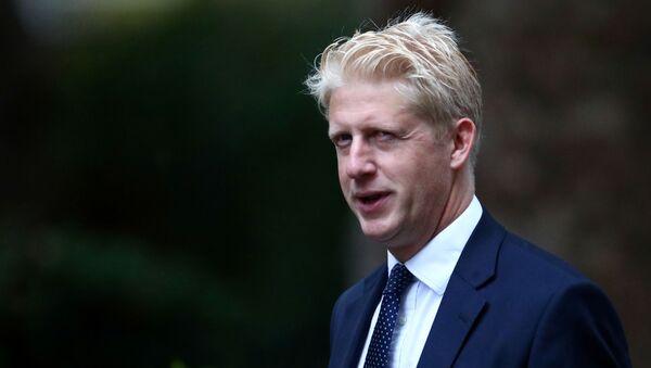 Jo Johnson, brother of Prime Minister Boris, is seen outside Downing Street in London - Sputnik International