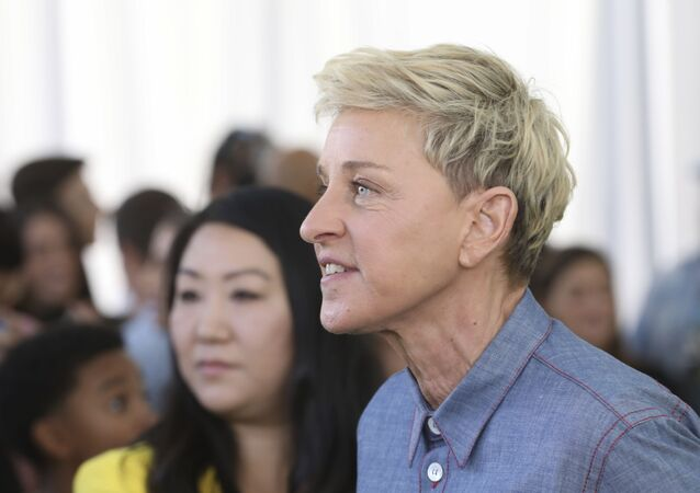 Ellen DeGeneres attends the premiere of Netflix's Green Eggs and Ham at the Hollywood American Legion Post 43 on Sunday, November 3, 2019 in Los Angeles