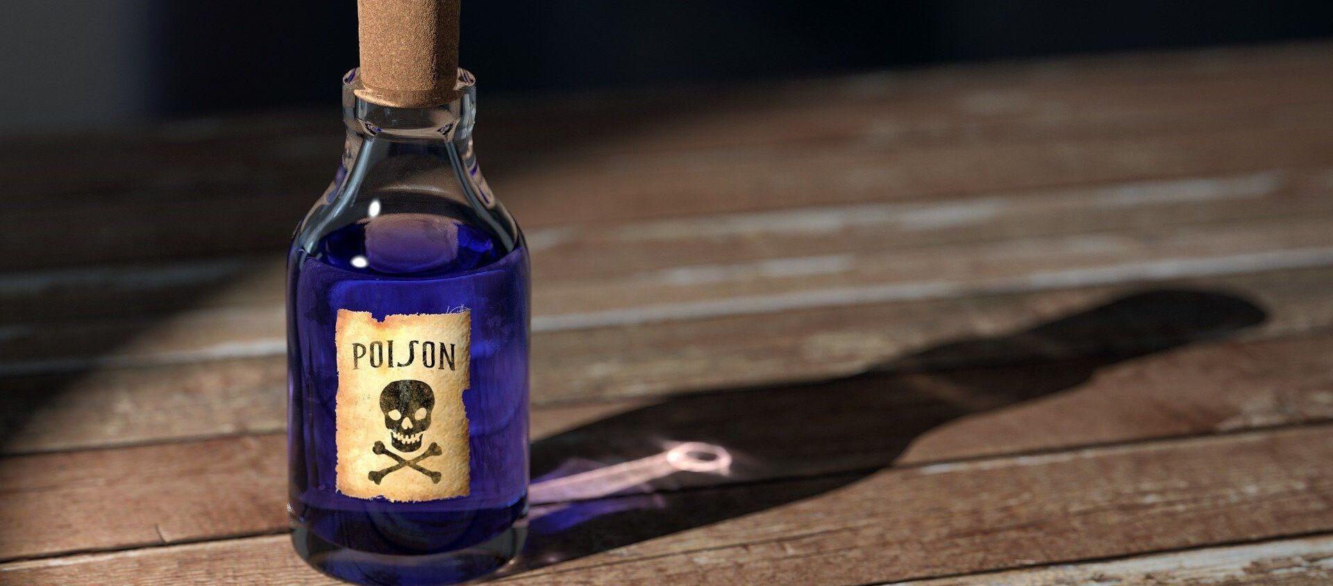 Small bottle of poison - Sputnik International, 1920, 16.06.2021