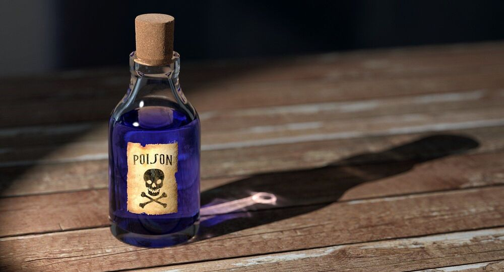 Small bottle of poison