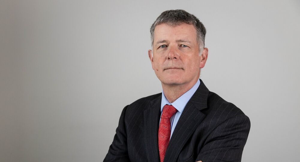 A photo of Richard Moore CMG, who was appointed as the new Chief of the Secret Intelligence Service, known as MI6, in this handout photo provided July 30, 2020.