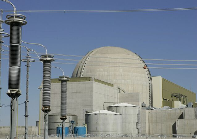 file photo shows one of the three units of the Palo Verde Nuclear Generating Station in Wintersburg, Arizona.