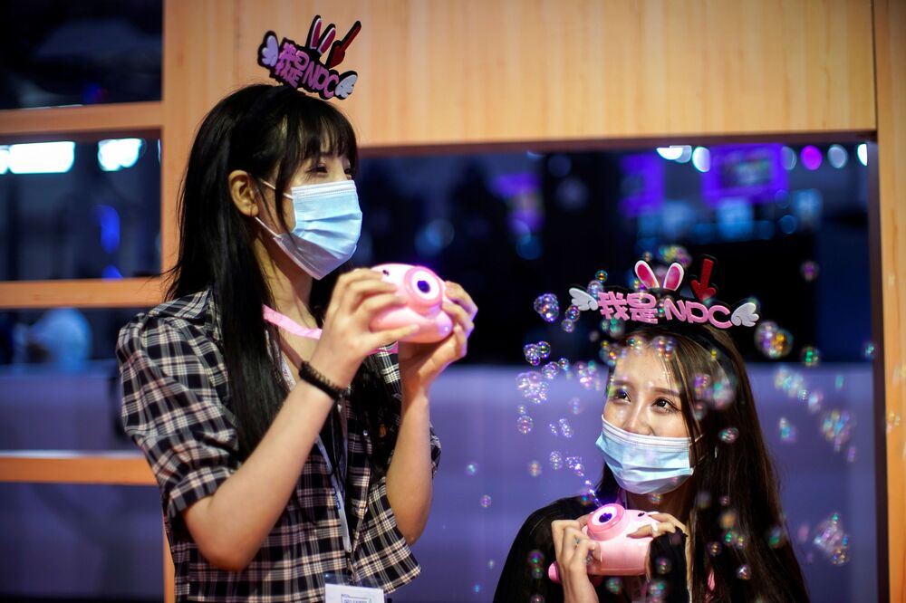Fun Amid COVID-19 Pandemic: Cosplayers Attend Asia's Biggest Expo ChinaJoy 2020