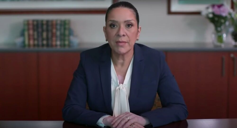 Esther Salas, a US federal judge whose son was killed and husband severely wounded in a shooting by an alleged disgruntled lawyer, calls on US lawmakers to strengthen protections for federal judges.