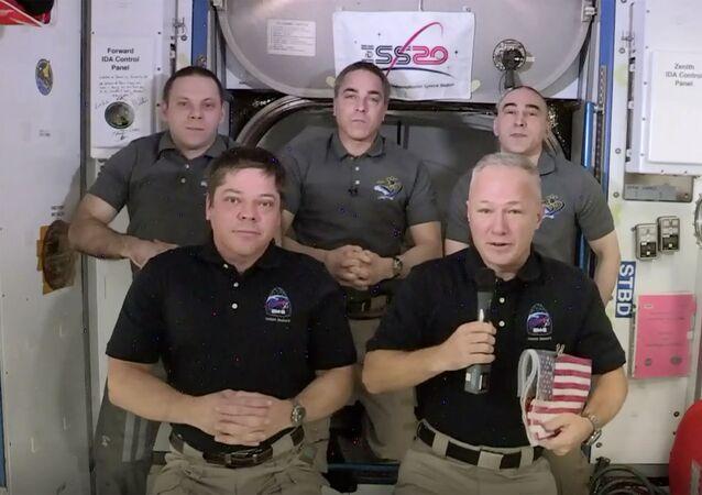 Astronauts Bob Behnken and Doug Hurley