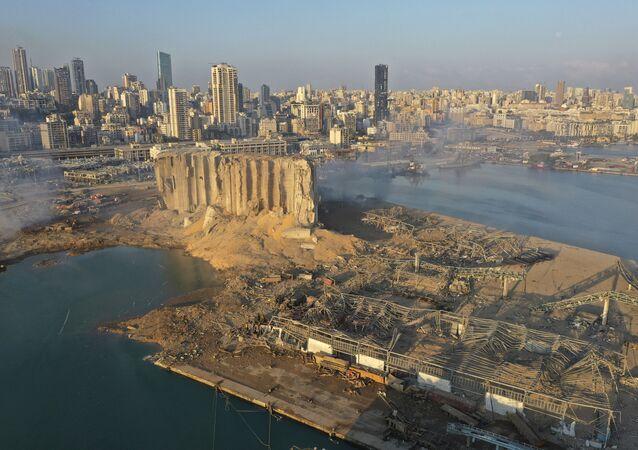 Beirut Port After Explosion