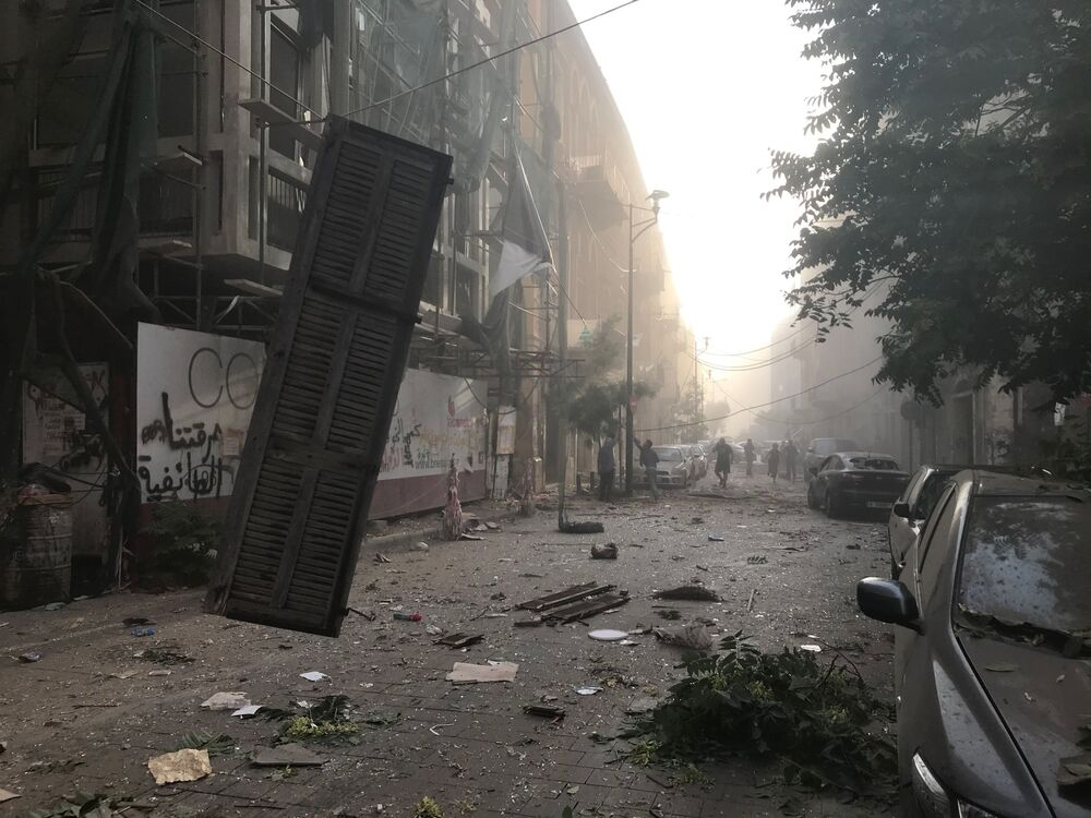 'National Disaster Akin to Hiroshima Bombing': Apocalyptic Aftermath of Explosion in Beirut