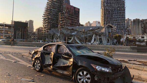 Последствия взрыва в Бейруте - Sputnik International