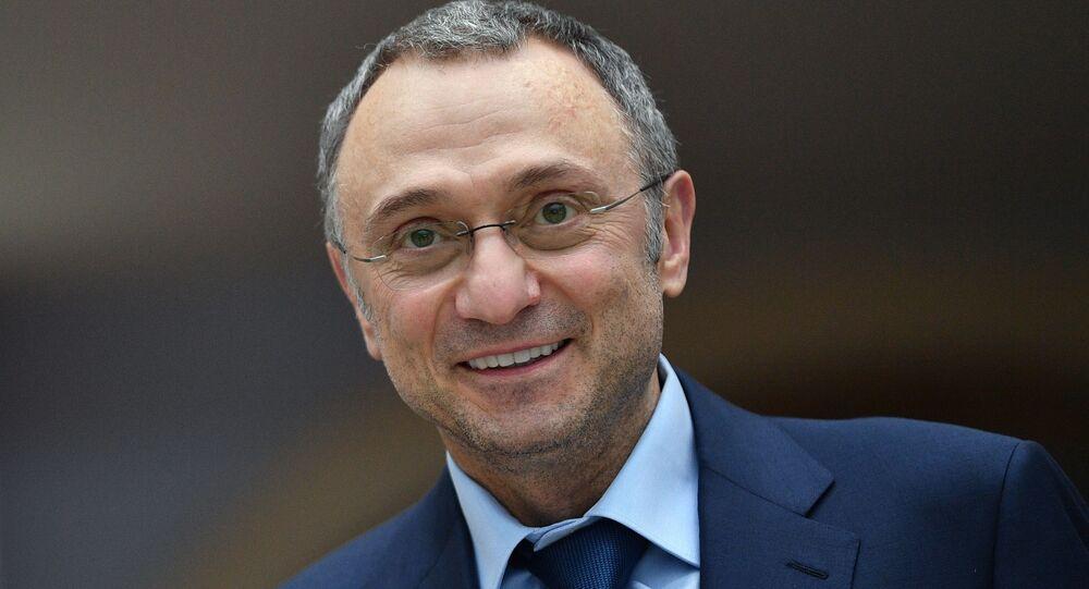 Russian lawmaker Suleiman Kerimov