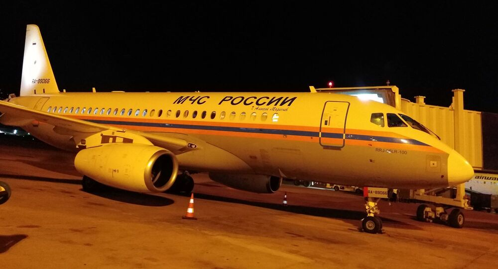 First Russian plane with humanitarian aid arrives at Beirut airport
