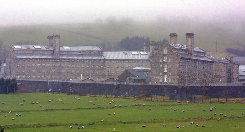 Dartmoor prison in England, which was originally built to house French prisoners during the Napoleonic Wars.