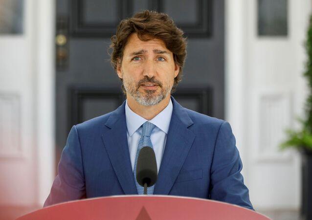 Canada's Prime Minister Justin Trudeau in Ottawa