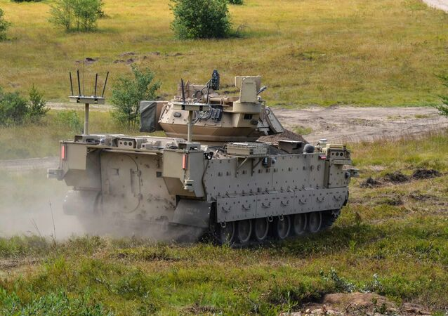 Modified Bradley Fighting Vehicles known as Mission Enabling Technologies Demonstrators (MET-D) and modified M113 tracked armored personnel carriers, known as Robotic Combat Vehicles (RCVs) are being utilized in a soldier operation experimentation at Ft. Carson, Col., from June 15 – Aug. 14, 2020.