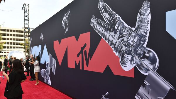 This Aug. 26, 2019 file photo shows a view of the red carpet at the MTV Video Music Awards in Newark, N.J. An MTV spokesperson said Monday that the show will take place Aug. 30 at the Barclays Center in Brooklyn, New York. - Sputnik International