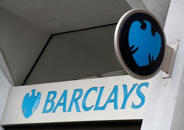 A Barclays sign outside one of the bank's branches in London, Britain, February 23, 2017.