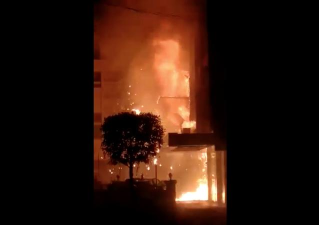 Fire Broke out at Makeshift Coronavirus Facility in India's Andhra Pradesh
